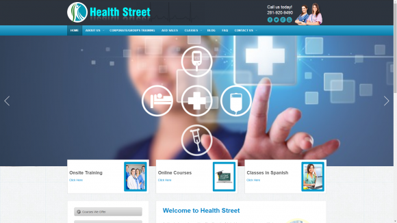 website-development-my-health-streat