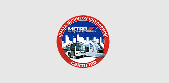 Optimum has been certified as a Small Business Enterprise (SBE) by Houston METRO – Office of Small Business