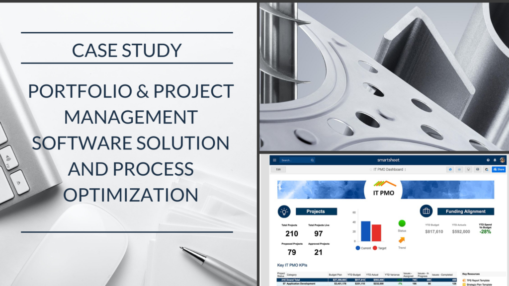 Case Study: Machinery Manufacturer automates PMO processes and projects with Optimum