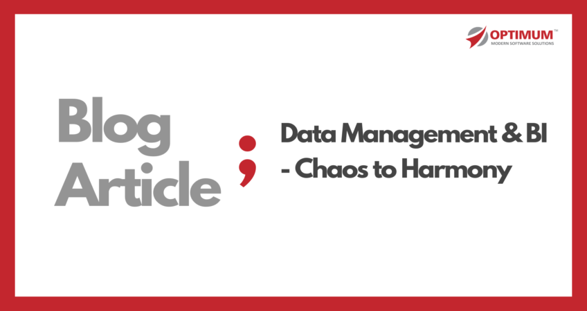 Optimum Data Management and BI Services