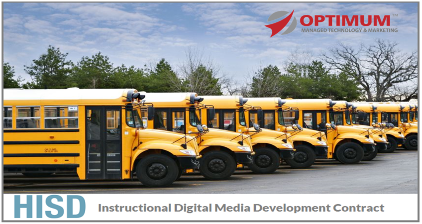 Optimum HISD Contract Awarded